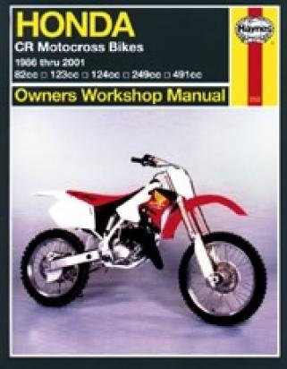 Picture of Haynes Manual - Honda CR80/125/250/500
