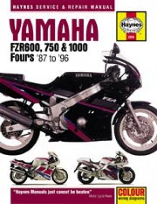 Picture of Haynes Manual - Yamaha FZR600-1000