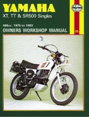 Picture of Haynes Manual - Yamaha SR500 XT500