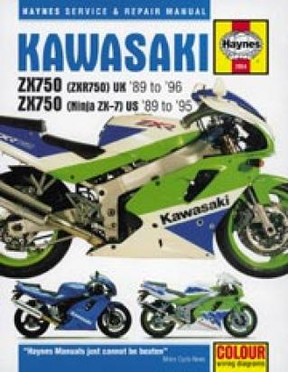 Picture of Haynes Manual - Kawasaki ZXR750