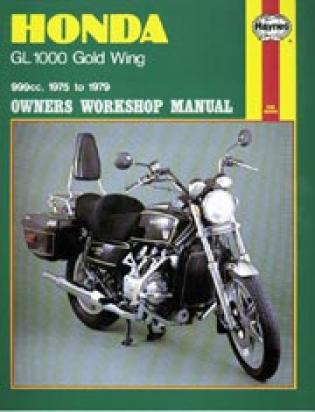 Picture of Haynes Manual - Honda GL1000