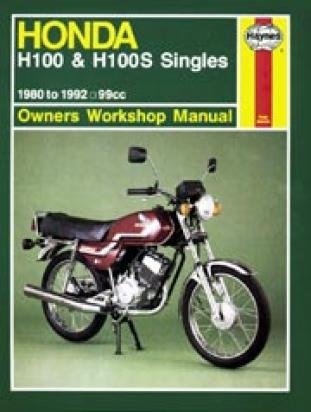 Picture of Haynes Manual - Honda H100 1980-93