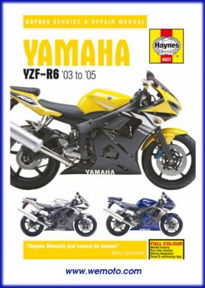 Picture of Haynes Manual - Yamaha YZF-R6 03-05
