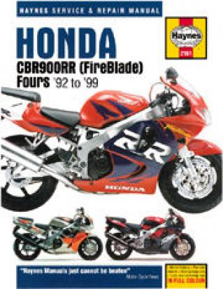 Picture of Haynes Manual - Honda CBR900RR  92-99