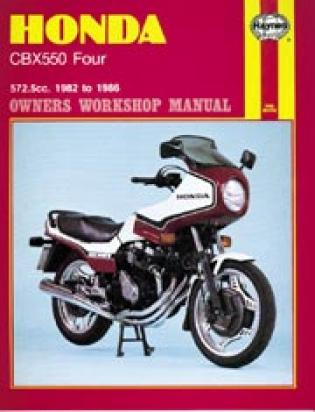 Picture of Haynes Manual - Honda CBX550 1982-87