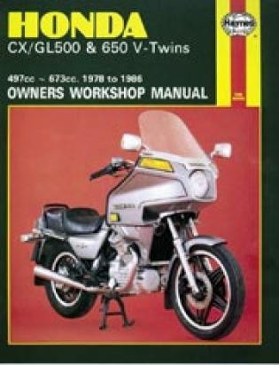 Picture of Haynes Manual - Honda CX GL