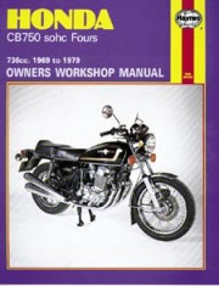 Picture of Haynes Manual - Honda CB750 SOHC