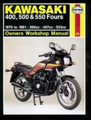 Picture of Haynes Manual - Kawasaki Z400/500 GPZ/Z/GT550 Aircooled Four