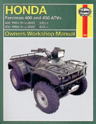 Picture of Haynes Manual - Honda TRX400/450 Foreman
