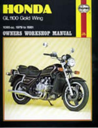 Picture of Haynes Manual - Honda GL1100 1980-1981