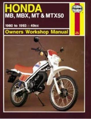 Picture of Haynes Manual - Honda MB/MBX50 MT/MTX50