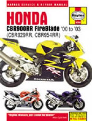 Picture of Haynes Manual - Honda CBR 900 RR Fireblade 2000-2003