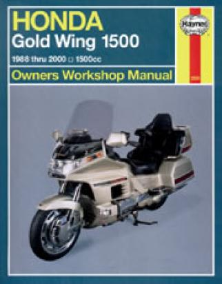 Picture of Haynes Manual - Honda GL1500 Gold Wing 1988-98