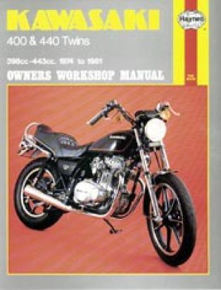 Picture of Haynes Manual - Kawasaki Z400/440