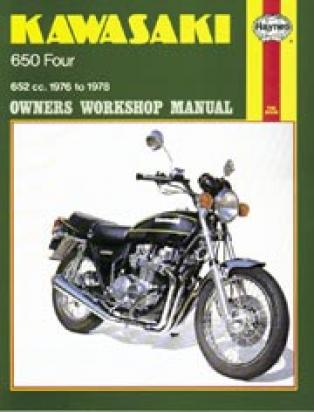 Haynes Manual - Kawasaki Z650