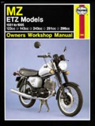Picture of Haynes Manual - MZ ETZ Models