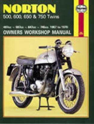Picture of Haynes Manual - Norton 500, 600, 650 & 750 Twins