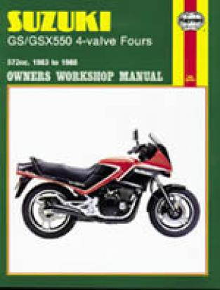Picture of Haynes Manual - Suzuki GSX 550