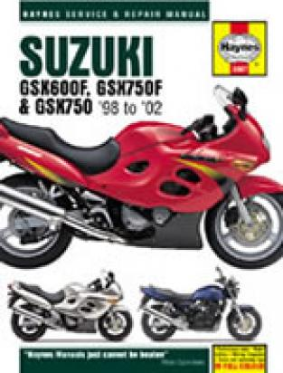Picture of Haynes Manual - Suzuki GSX600F GSX750F 1998-2002