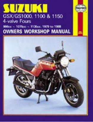 Picture of Haynes Manual - Suzuki GSX1000/1100 Katana