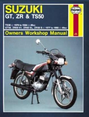 Picture of Haynes Manual - Suzuki GT/TS/ZR50 1977-90