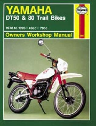 Picture of Haynes Manual - Yamaha DT50/80 1978-87