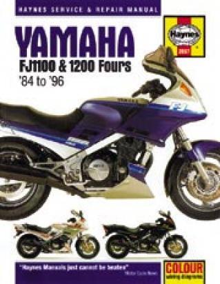 Picture of Haynes Manual - Yamaha FJ1100 FJ1200 1984-96