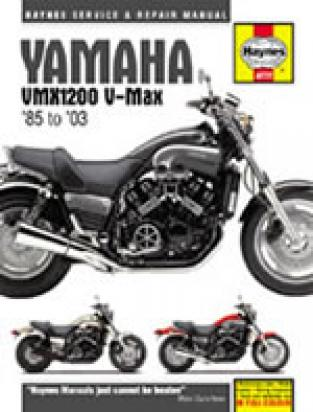 Picture of Haynes Manual - Yamaha VMX 1200 V-Max 1985-2003