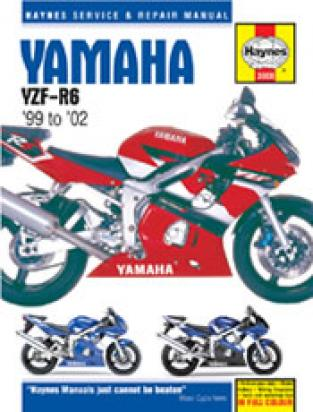 Picture of Haynes Manual - Yamaha YZF-R6 98-02