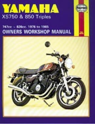 Picture of Haynes Manual - Yamaha XS750/850