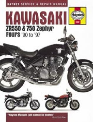 Picture of Haynes Manual - Kawasaki ZR550 ZR750 Zephyr