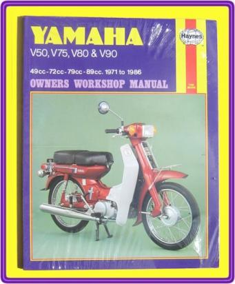 Picture of Haynes Manual - Yamaha V50, V75, V80 and V90 1971-1986