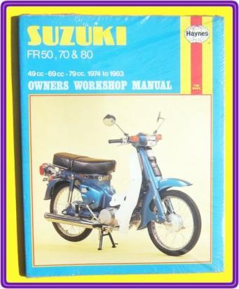 Picture of Haynes Manual - Yamaha FR50 FR70 FR80 1974 - 1983