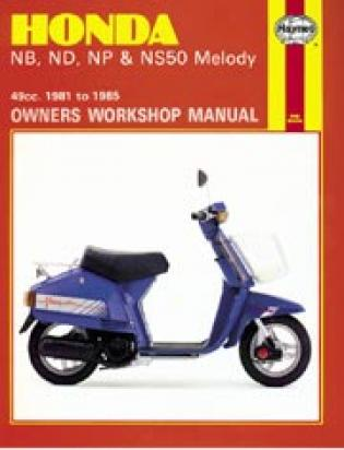 Picture of Haynes Manual - Honda NB/ND/NP/NS50 Melody