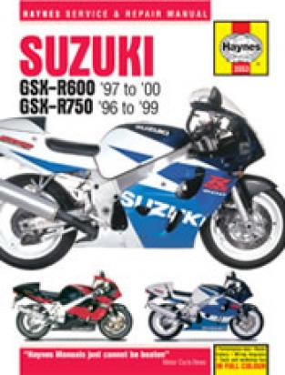 Picture of Haynes Manual - Suzuki GSXR600 97-00 GSXR750 96-99