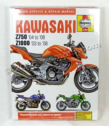 Picture of Haynes Manual - ZR750(04-08)-ZR1000 (03-08)