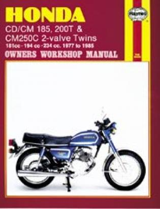 Picture of Haynes Manual - Honda  CD185 CD/CM200 CM250