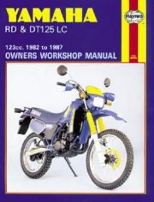 Picture of Haynes Manual - Yamaha DT/RD125 1982-88