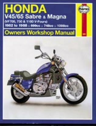 Picture of Haynes Manual - Honda VF750 1982-89