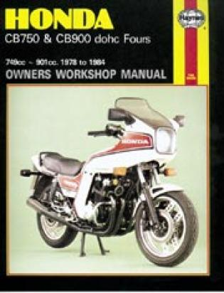 Picture of Haynes Manual - Honda CB750/900 DOHC