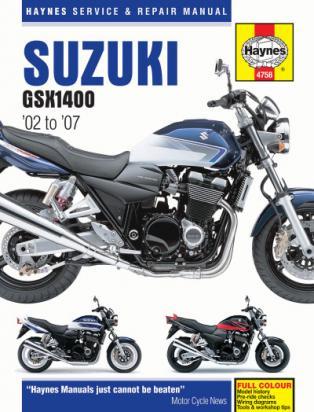 Picture of Haynes Manual -  Suzuki GSX1400 K2-K7 2002-2007