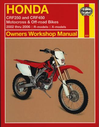 Picture of Haynes Manual - Honda CRF250R/X 04-06 CRF450R/X 02-06