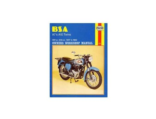 Picture of Haynes Manual - BSA A7 & A10 Twins 1947-1962