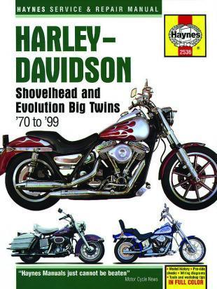 Picture of Haynes Manual - Harley Davidson FL FLH FLHS FX FXR FXRS Big Twins 70-99