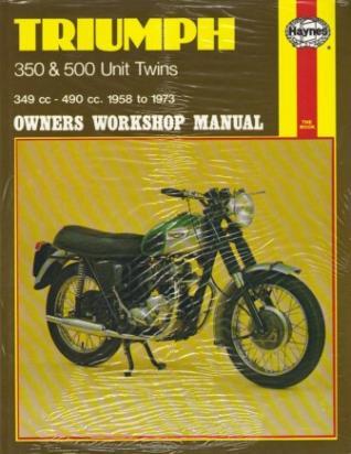 Picture of Haynes Manual - Triumph 350 & 500 Unit Twins (58 - 73)