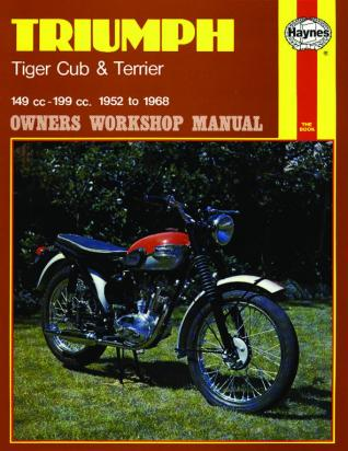 Haynes Manual - Triumph Tiger Cub & Terrier (52 - 68)
