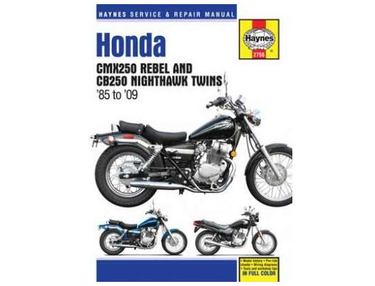 Picture of Haynes Manual - Honda CMX250 Rebel & CB250 Nighthawk Twins (85 - 09)