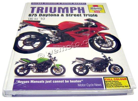 Picture of Haynes Manual - Triumph Daytona 675 and Street Triple 06 to 10