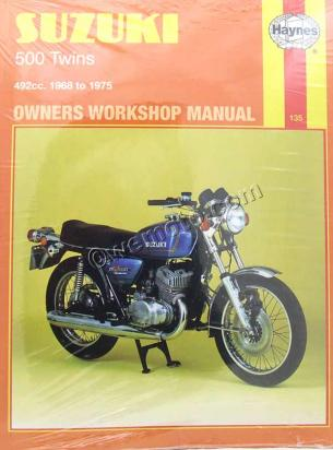 Picture of Haynes Manual - Suzuki 500 Twins