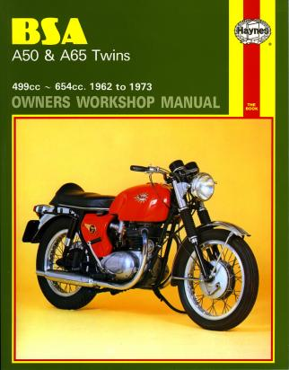Picture of Haynes Manual - BSA A50 A65 Twins 1961-1973